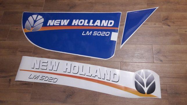 Naklejki ładowarka New Holland 5020 , 5040 inne