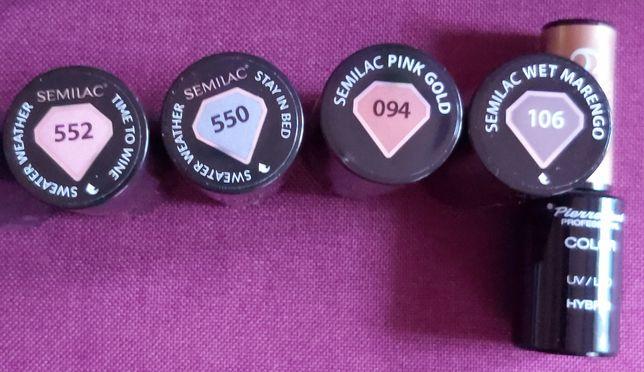 Zestaw 5 lakierów Semilac