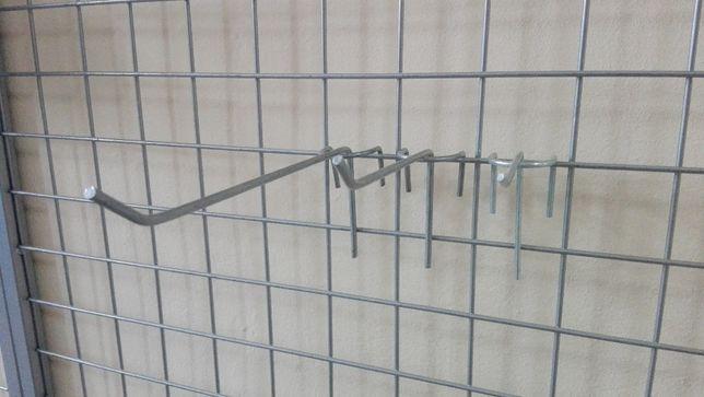 Haczyk sklepowy, zawieszka na kratę 10,15 cm Pilne