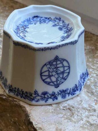 Saleiro em porcelana, redondo de estilo, Companhia das Indias