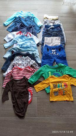 Paka ubranek niemowlęcych 68