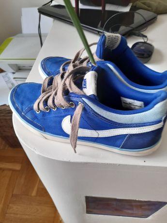 Nike trampki niebieskie