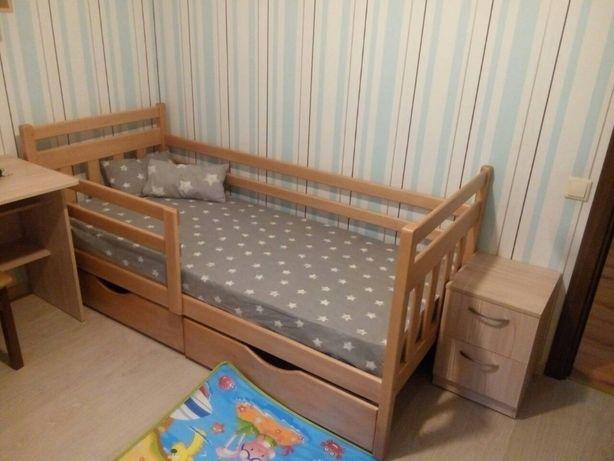 Купить детскую кровать из дерева, мебель в детскую