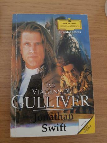 """Livro """"As Viagens de Gulliver"""" de Jonathan Swift"""