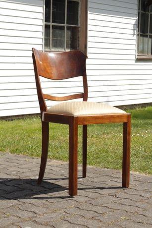 Komplet 4 krzeseł art deco | Likwidacja Warsztatu Meblowego!