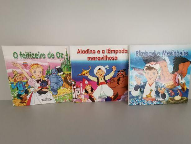 Conjunto de 3 livros - Mini Clássicos
