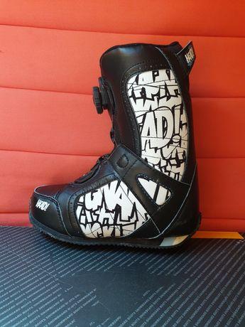 RIDE Jr Boa Boys 35-36.5 cm buty snowboard dla dziecka