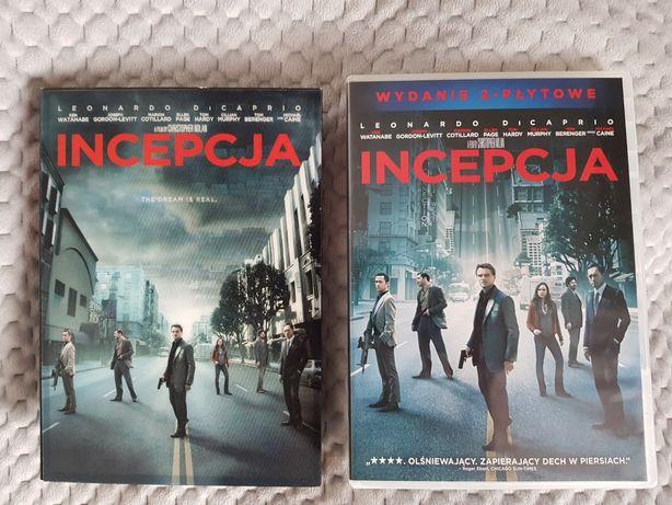 Incepcja 2 DVD okładka holograficzna reż. Nolan WYSYŁKA 5 ZŁ