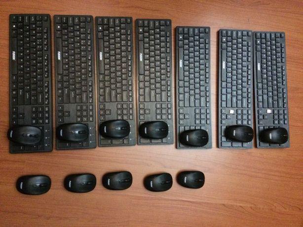 Multiplos Fusion5 rato e teclado com dongle wireless