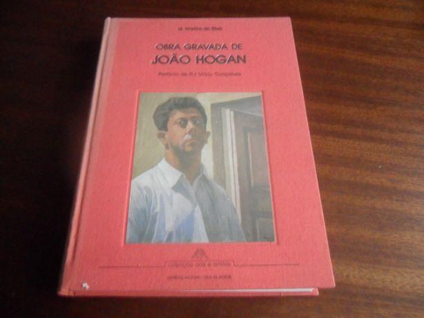 """""""Obra Gravada de João Hogan"""" de M. Martins da Silva"""