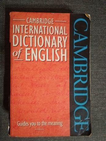 Dicionário de Inglês do Cambridge