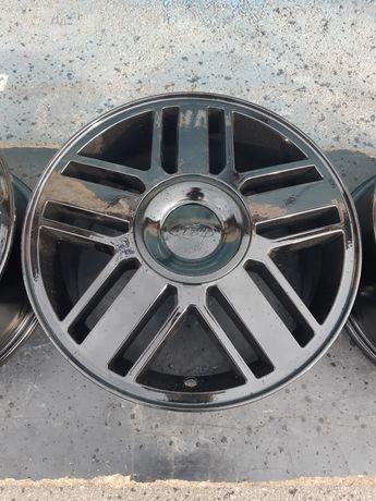 Goauto комплект дисков Ford 5/108 r16 et52.5 6.5j dia63.4 чёрный гляне