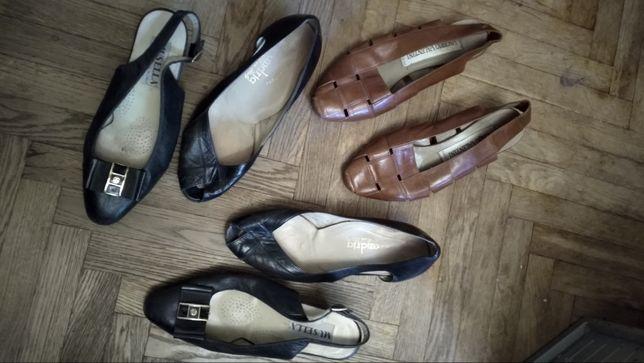 Кожа туфли лоферы босоножки мюли 35 стелька 22,5
