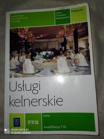 """Podręcznik """"Usługi kelnerskie"""""""