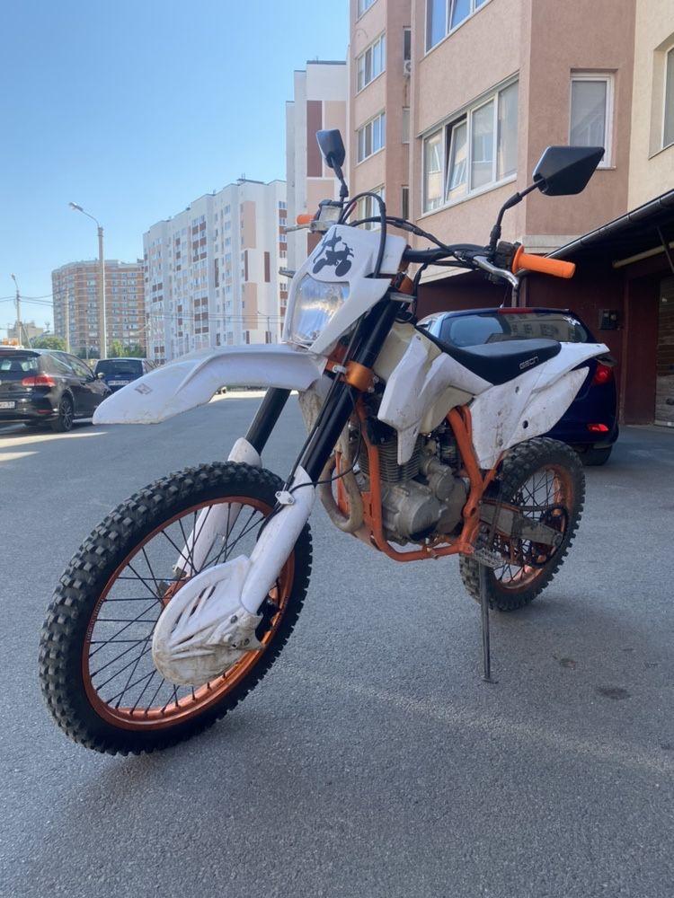 Мотоцикл Enduro Geon TerraX 250 21/19 (2019) (торг)