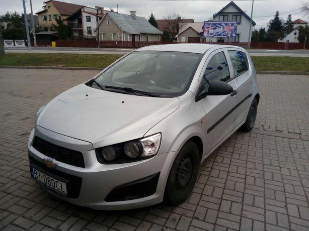 Chevrolet Aveo 2012r. Klima, salon Polska niski przebieg 66tys. km.