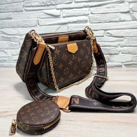 Женская сумка Louis Vuitton Multi Pochette (Луи Виттон)