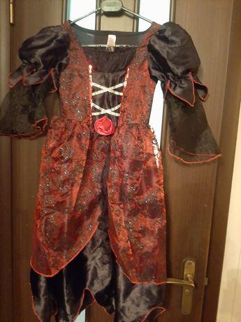 Карнавальный костюм, хеллоуин, паук, ведьма на рост 110, 116