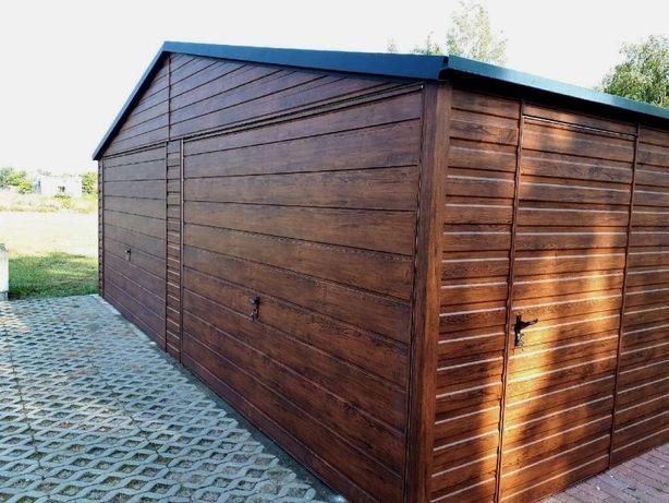Garaż 3x5 Schowek budowlany, drewutnia, wiata, drewnopodobny