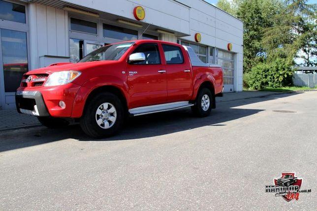 Zabudowa płaska niska z lotką Toyota Hilux