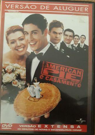 DVD American Pie O Casamento Versão Extensa