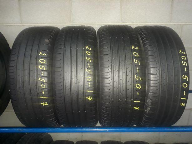 Літні шини 205/50 R17 CONTINENTAL