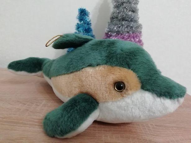Дельфин мягкая игрушка декор дельфін дизайн