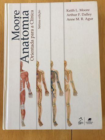 Livro moore anatomia orientada para a clinica