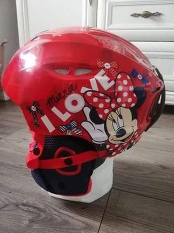 Kask dziewczęcy rowerowy Disney Minnie Mouse