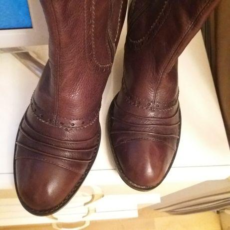 Ботинки, кожа натуральная