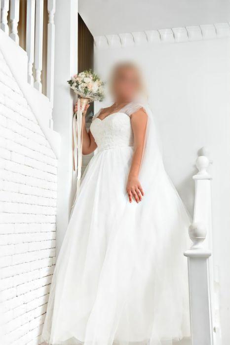 Шикарное свадебное платье Никополь - изображение 1