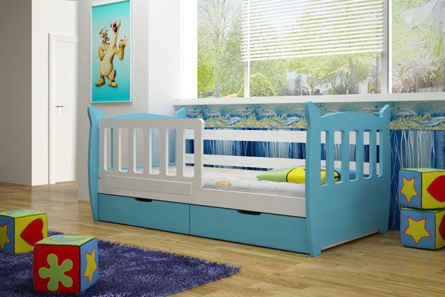 Łóżko pojedyncze dla dzieci w super cenie MILKY. Dostawa GRATIS !