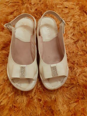 Buty lato sandałki sandały  damskie koturna skóra lasocki