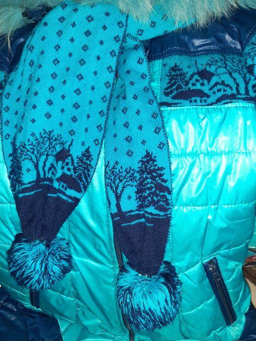 Пуховик пальто для девочки Запорожье - изображение 1