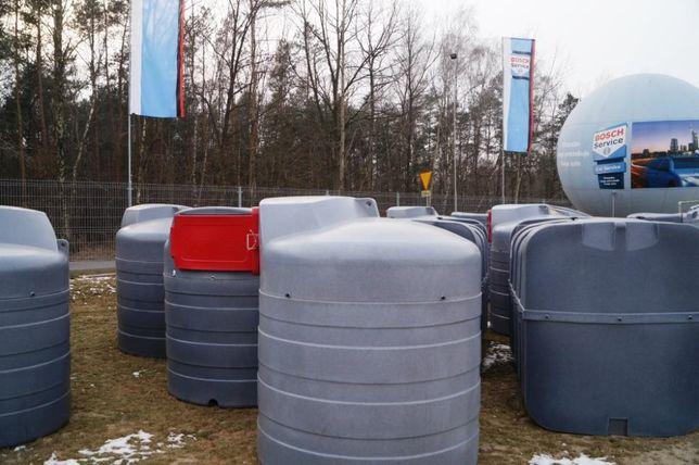 PROMOCJA KĘPNO SWIMER 2500l Zbiornik na paliwo Dwupłaszczowy Diesel ON