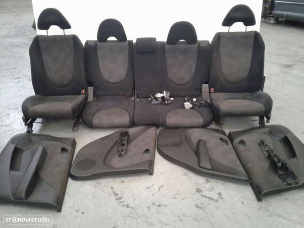 Conjunto De Bancos / Sem Airbags Honda Jazz Ii (Gd_, Ge3, Ge2)