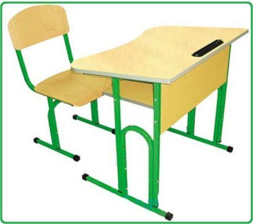 Парта и стул для школи.