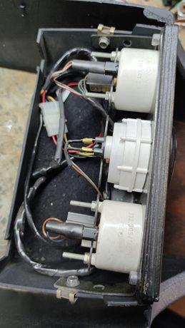 Dodatkowe zegary audi 80 B3 B4 turbo TDI td drewno