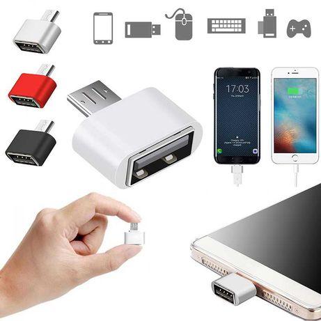 Универсальный Micro USB - USB OTG адаптер переходник для флешек