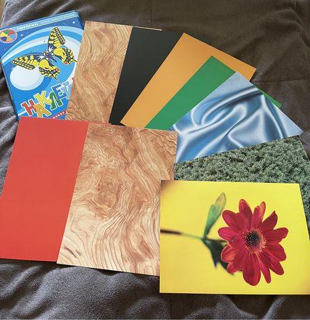 Набор цветного картона а5/ Цветной картон а5/ Кольоровий картон А5