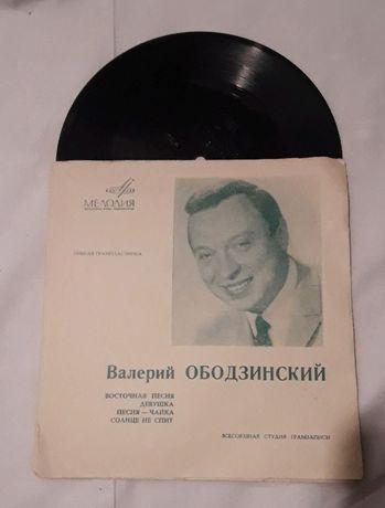 """мягкая виниловая пластинка """"Валерий Ободзинский"""""""