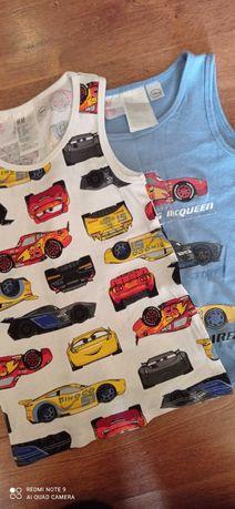 T-shirt na ramiączkach chłopiec 110/116/122 zygzak Maquin gratis