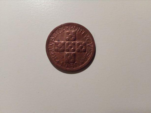 Portugal - X Centavos de 1950 BELA