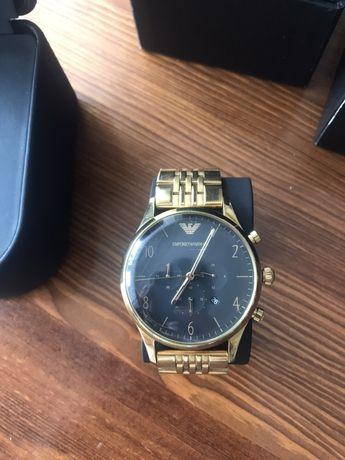 Złoty zegarek Emporio Armani model AR 1893