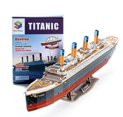"""Огромные 3D пазлы """"Титаник"""" Трехмерный конструктор-головоломка 80.6"""