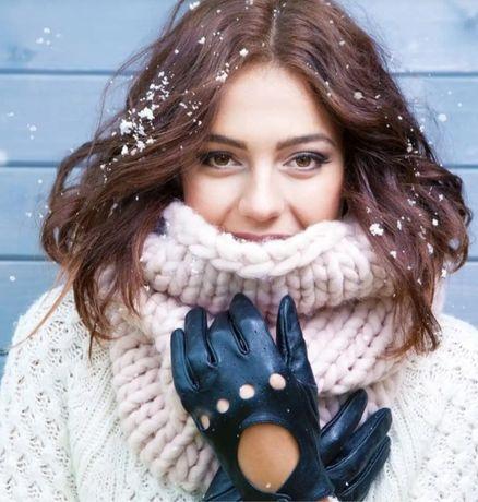 Skórzane rękawiczki Wittchen