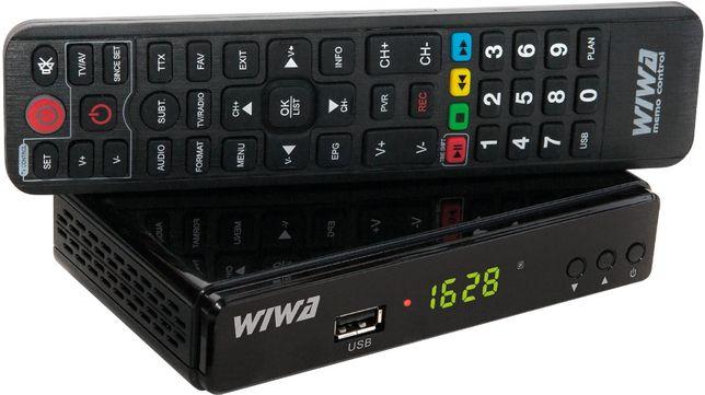 Tuner DVB-T Wiwa H.265 do telewizji naziemnej