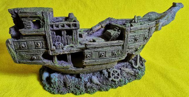 Декорация для аквариума Корабль