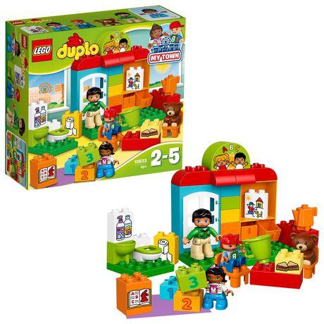 Конструктор Lego Duplo Детский сад Первый дом 10833