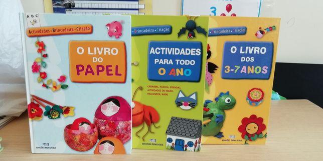 Conjunto livros pré-escolar